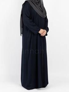 Sunnah Style - Essentials Full Zip Abaya (Navy Blue)
