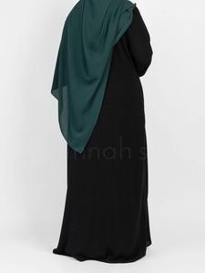 Sunnah Style - Essentials Closed Abaya (Black)