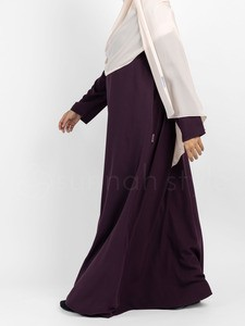 Sunnah Style - Essentials Closed Abaya (Eggplant)
