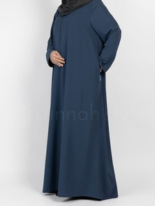 Sunnah Style - Essentials Closed Abaya (Steel Blue)