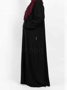 Sunnah Style - Essentials Hooded Abaya (Black)