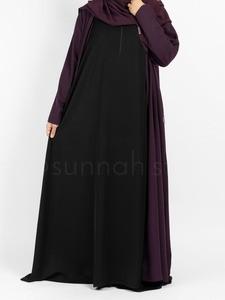 Sunnah Style - Essentials Sleeveless Abaya (Black)
