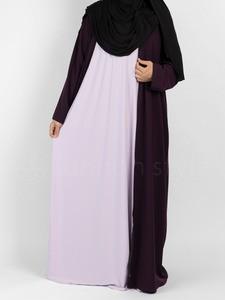 Sunnah Style - Sleeveless Jersey Abaya (Lavender)