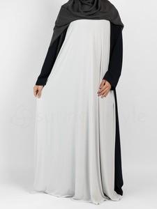 Sunnah Style - Sleeveless Jersey Abaya (Glacier Grey)