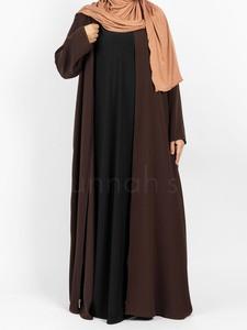 Sunnah Style - Sleeveless Jersey Abaya (Black)