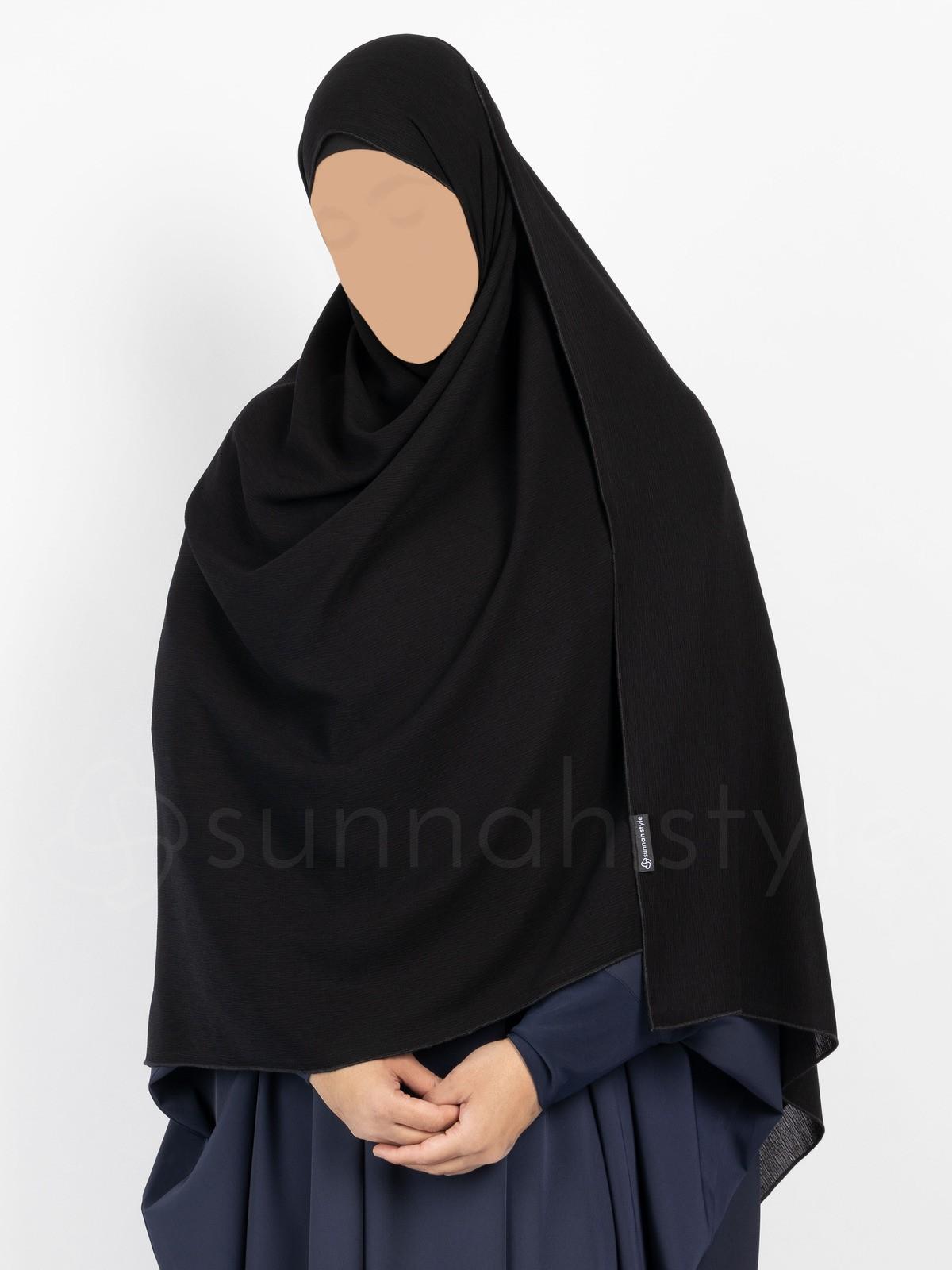 Sunnah Style - Brushed Shayla - XL (Black)
