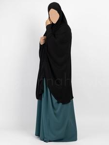 Sunnah Style - Signature Jilbab Top - Knee Length (Black)