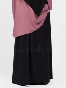 Sunnah Style - Jersey Maxi Skirt (Black)