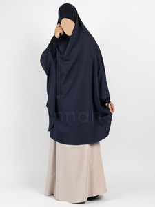Sunnah Style - Signature Jilbab Top - Knee Length (Navy Blue)