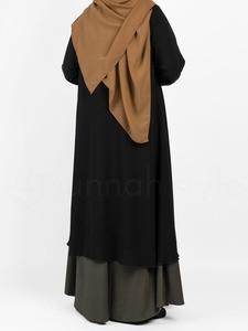 Sunnah Style - Chiffon Duster Cardigan (Black)
