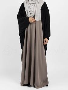 Sunnah Style - Jersey Cocoon Cardigan (Black)