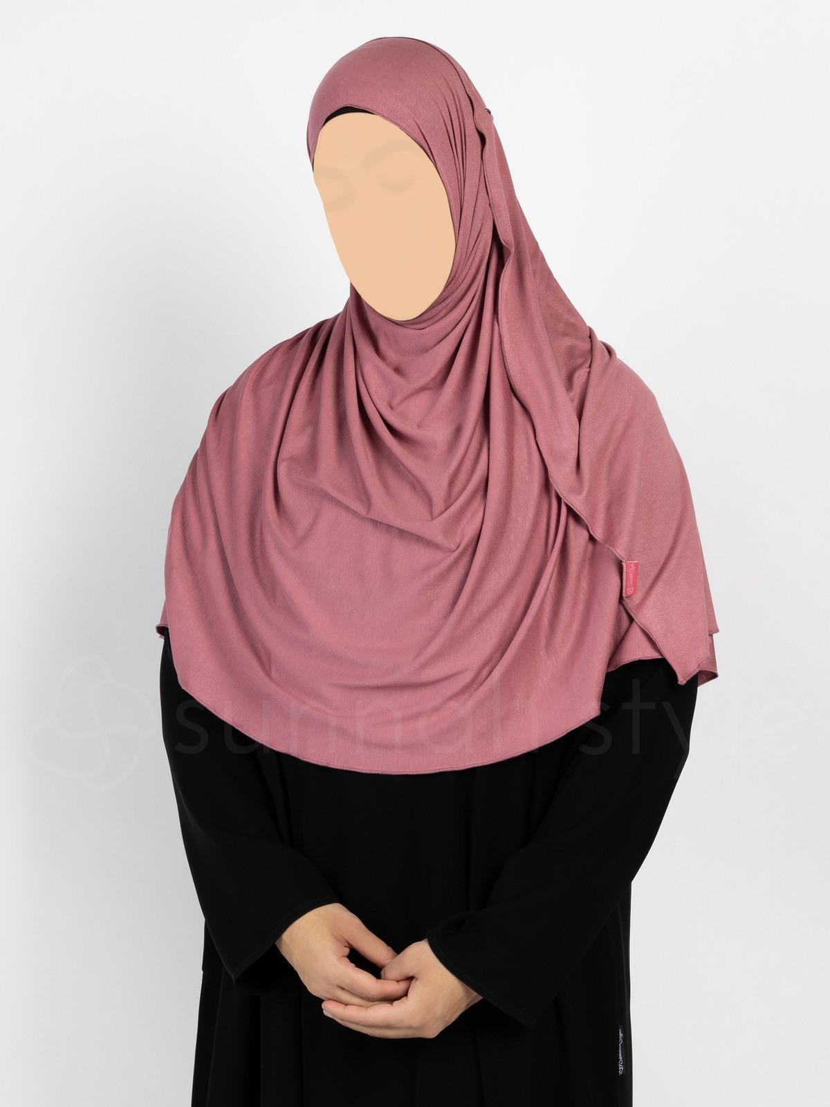 Sunnah Style Urban Shayla (Soft Jersey) - Large (Watermelon)