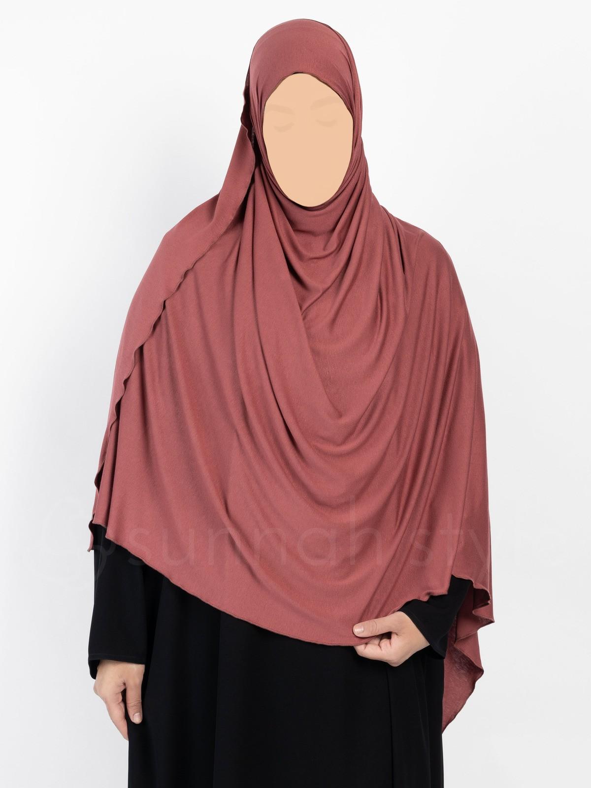 Sunnah Style - Urban Shayla (Soft Jersey) - XL (Chili)