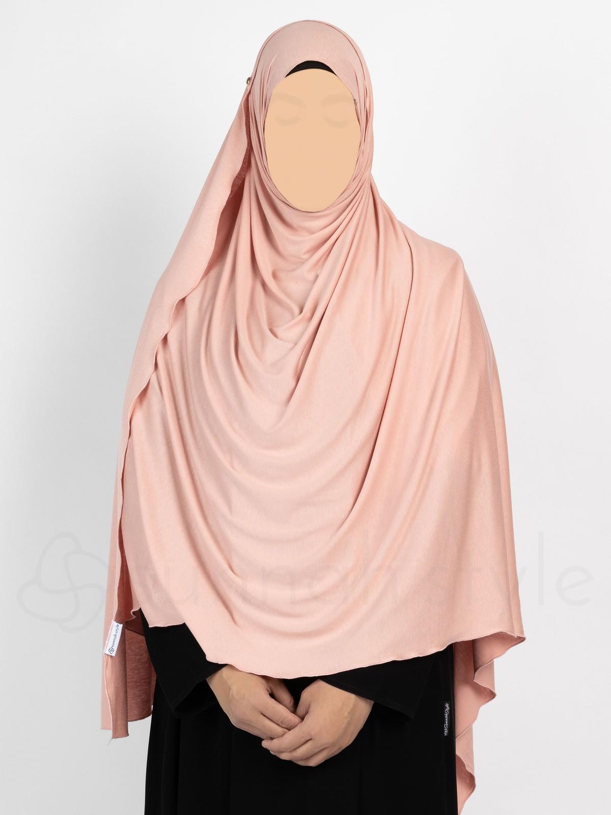 Sunnah Style - Urban Shayla (Soft Jersey) - XL (Light Coral)