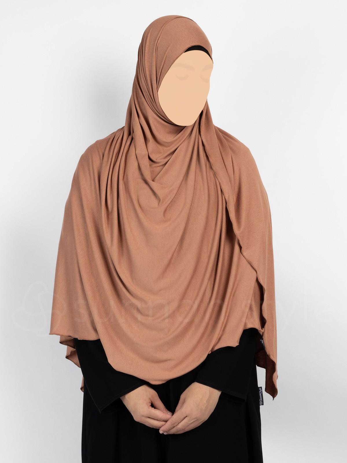 Sunnah Style - Urban Shayla (Soft Jersey) - XL (Terracotta)