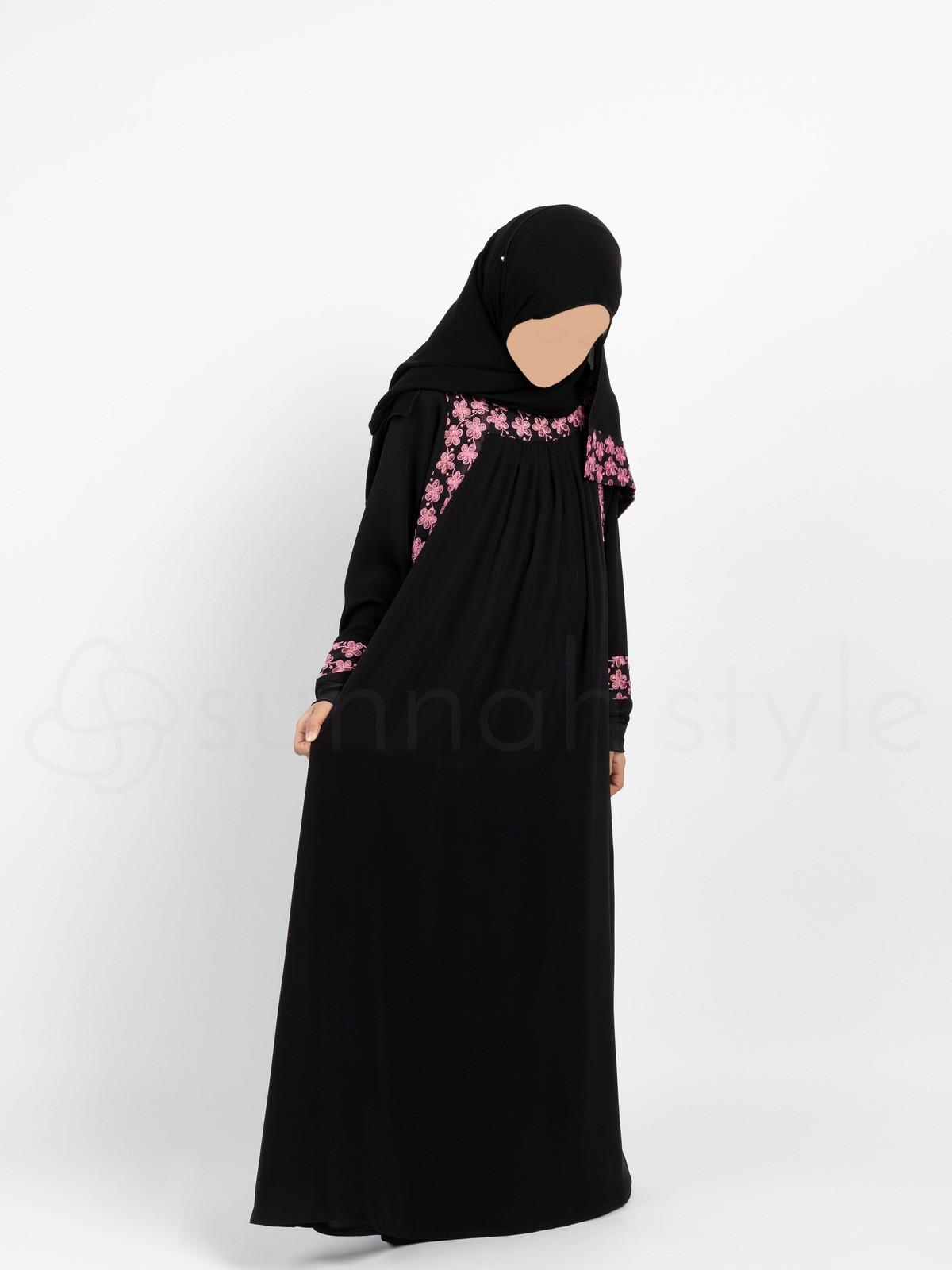 Sunnah Style - Girls Daisy Umbrella Abaya
