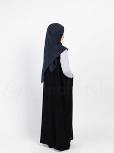 Sunnah Style - Girls Essentials Sleeveless Abaya (Black)