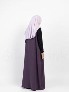 Sunnah Style - Girls Essentials Sleeveless Abaya (Lilac)