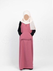 Sunnah Style - Girls Essentials Sleeveless Abaya (Black)