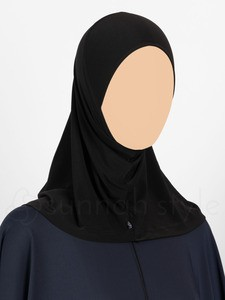 Sunnah Style - Complete Underscarf (Black)