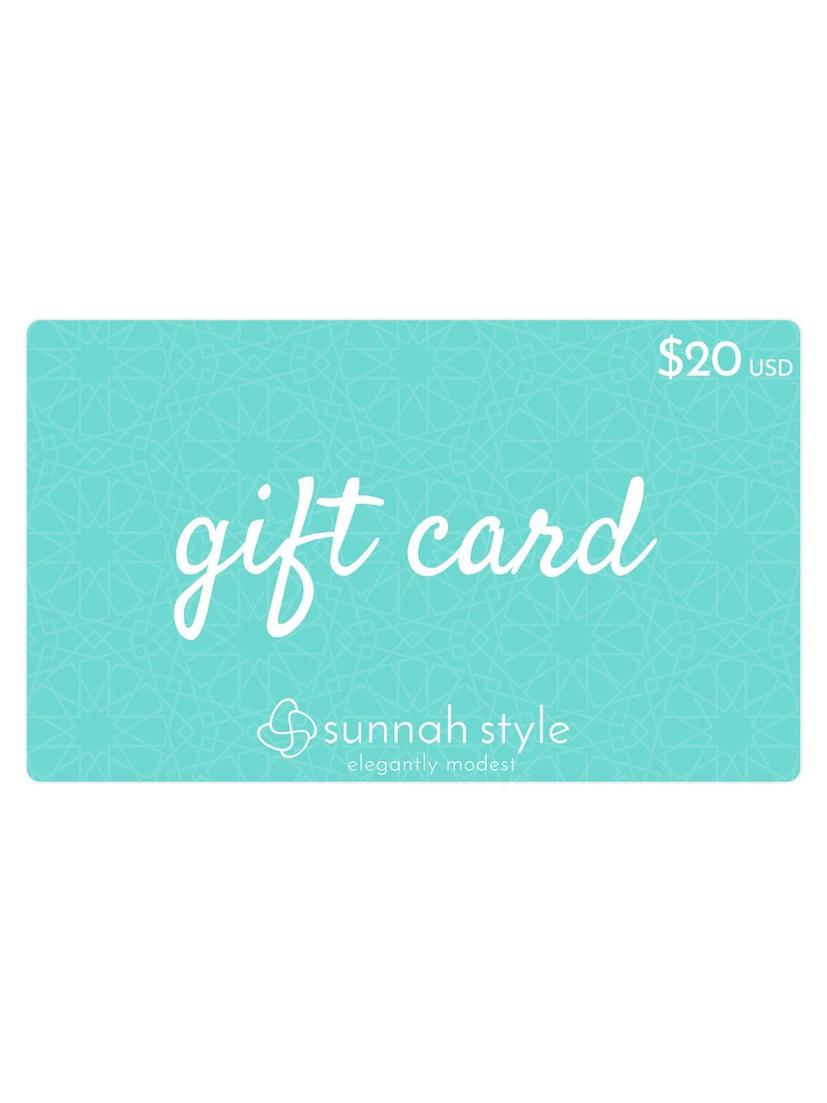 Sunnah Style $20 Gift Card