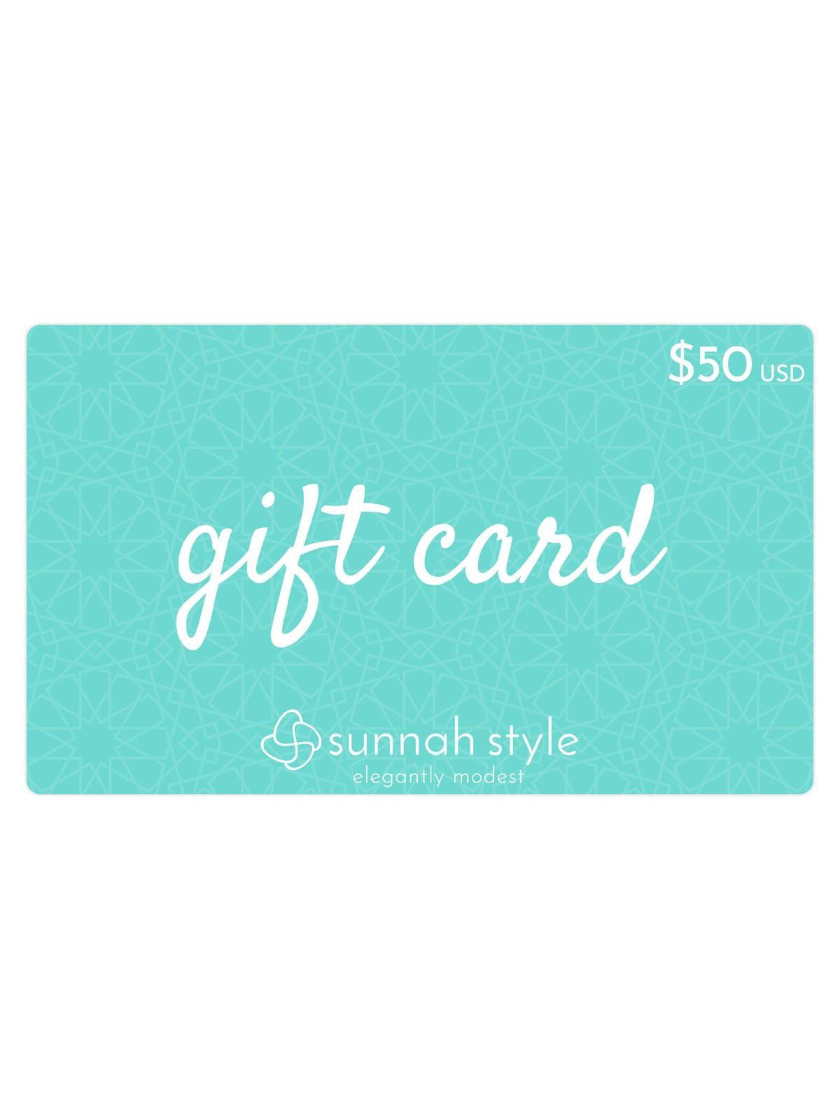 Sunnah Style $50 Gift Card