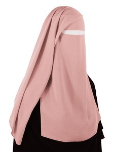 Two Piece Niqab (Blush)