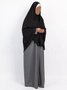 Sunnah Style - Essentials Khimar - Hip Length (Black)