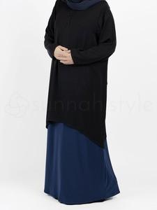 Sunnah Style - Avant Abaya Top (Black)