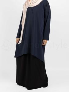 Sunnah Style - Avant Abaya Top (Navy Blue)