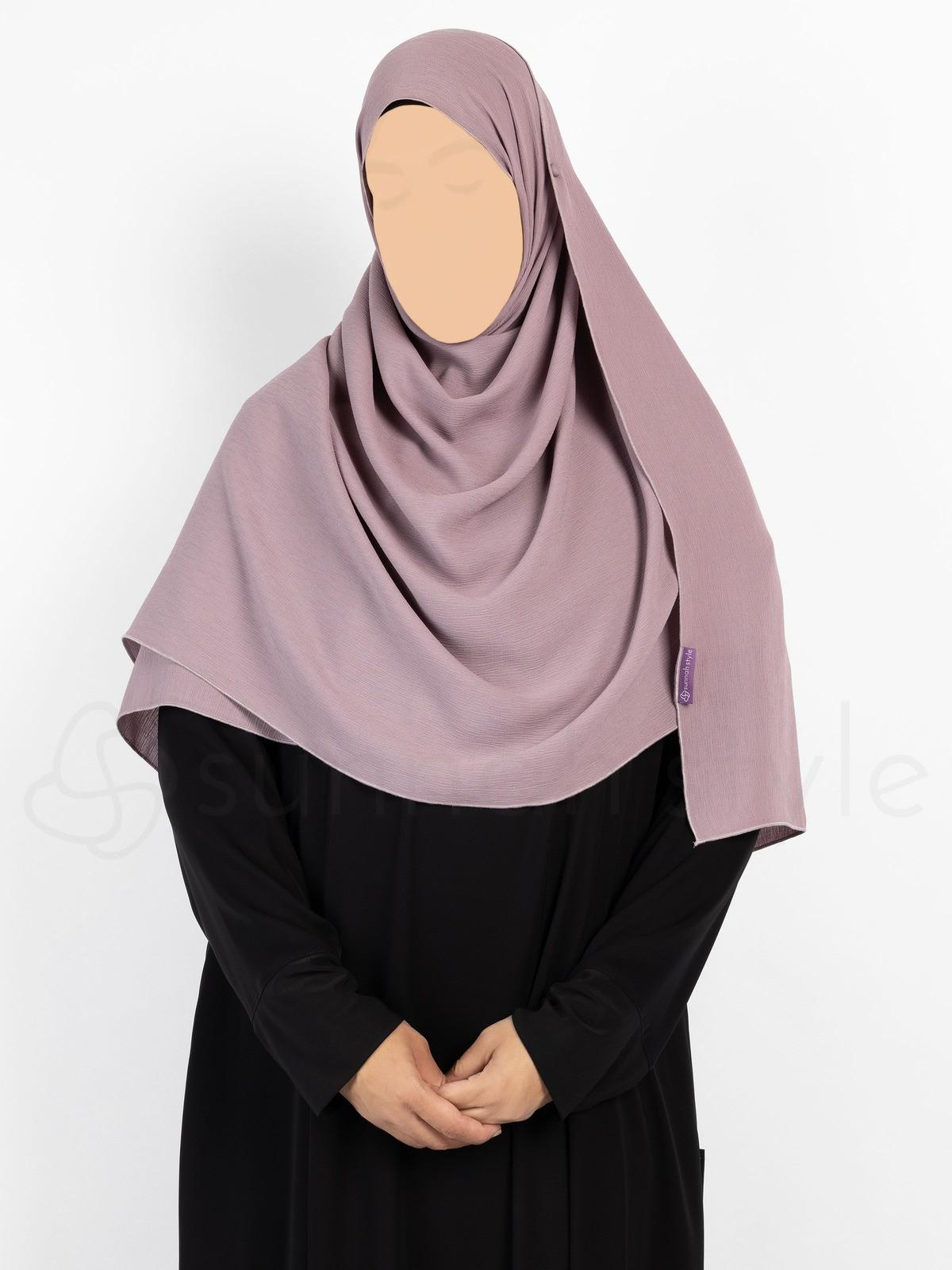 Sunnah Style - Brushed Shayla - Large (Elderberry)