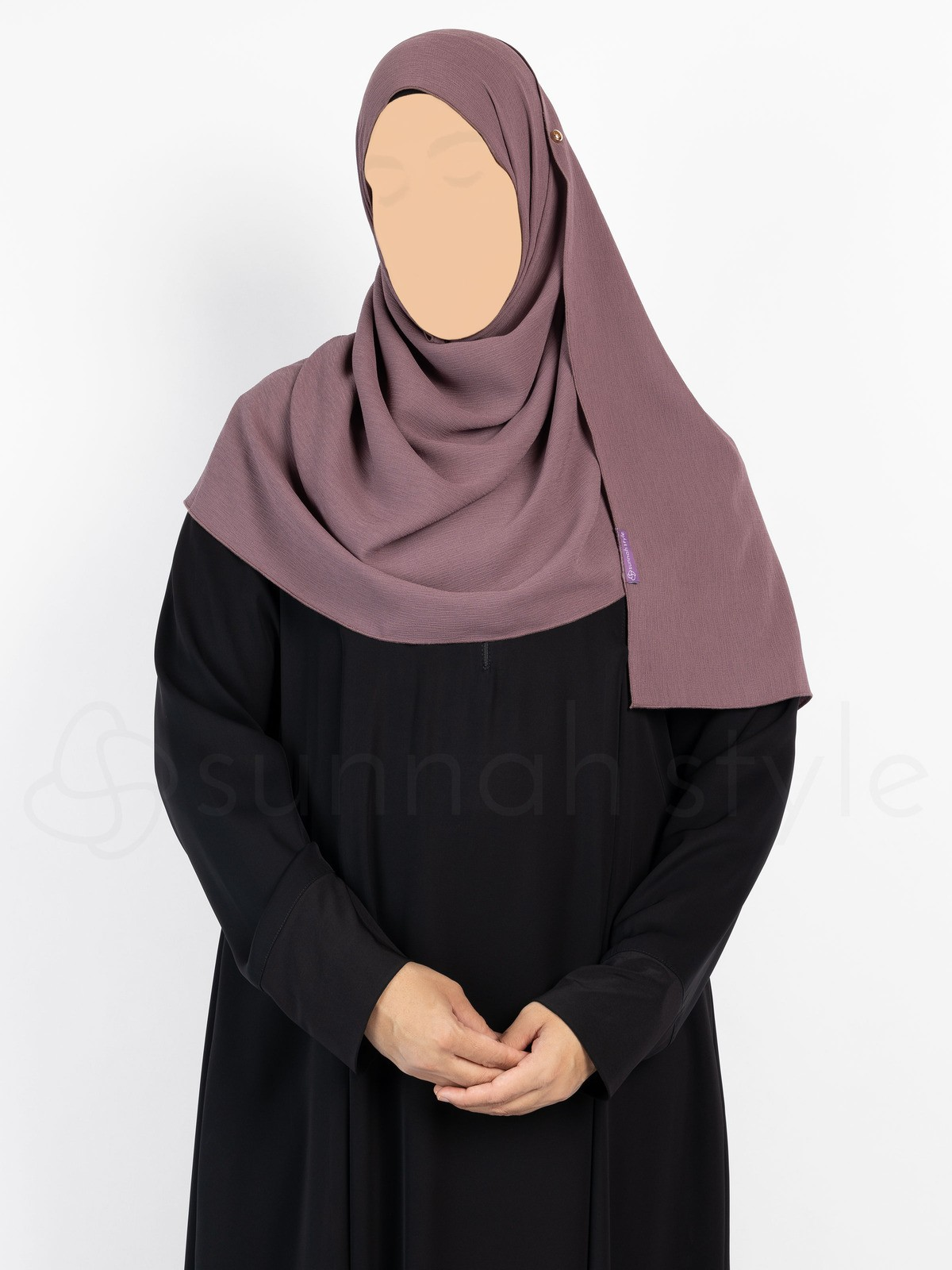 Sunnah Style - Brushed Shayla - Standard (Twilight Mauve)