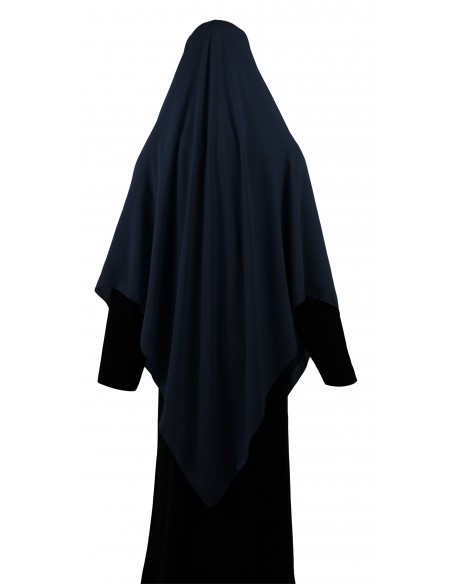 Essential Square Hijab - Extra Large (Navy Blue)