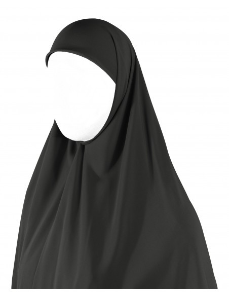 Essential Square Hijab - Extra Large (Dark Grey)