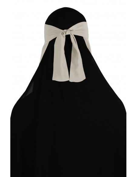 No-Pinch One Piece Niqab (Sahara)