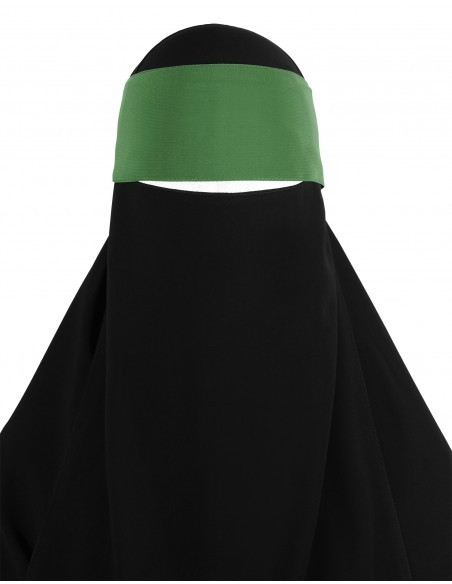 Adjustable Niqab Flap (Olive)