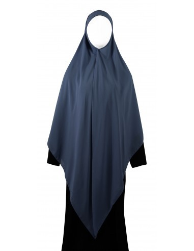 Essential Square Hijab - XL (Steel Blue)