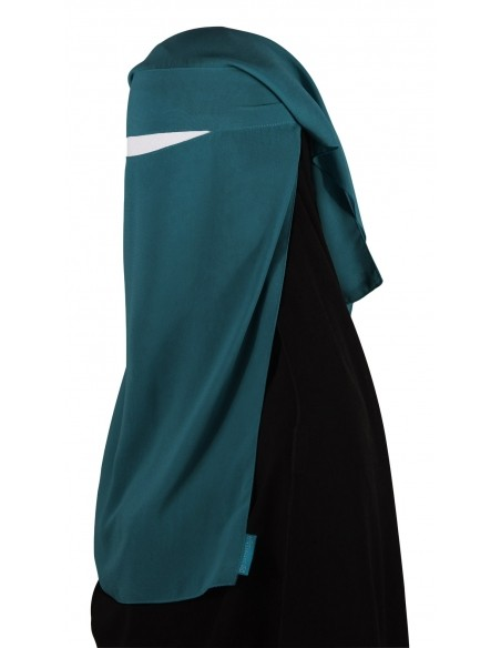 Two Piece Niqab (Teal)