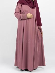 Sunnah Style - Belle Umbrella Abaya (Rosewood)