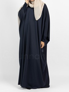 Sunnah Style - Classic Bisht Abaya (Navy Blue)