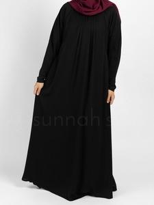 Sunnah Style - Simplicity Umbrella Abaya (Black)