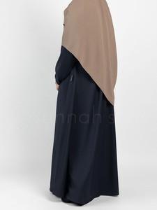 Sunnah Style - Simplicity Umbrella Abaya (Navy Blue)