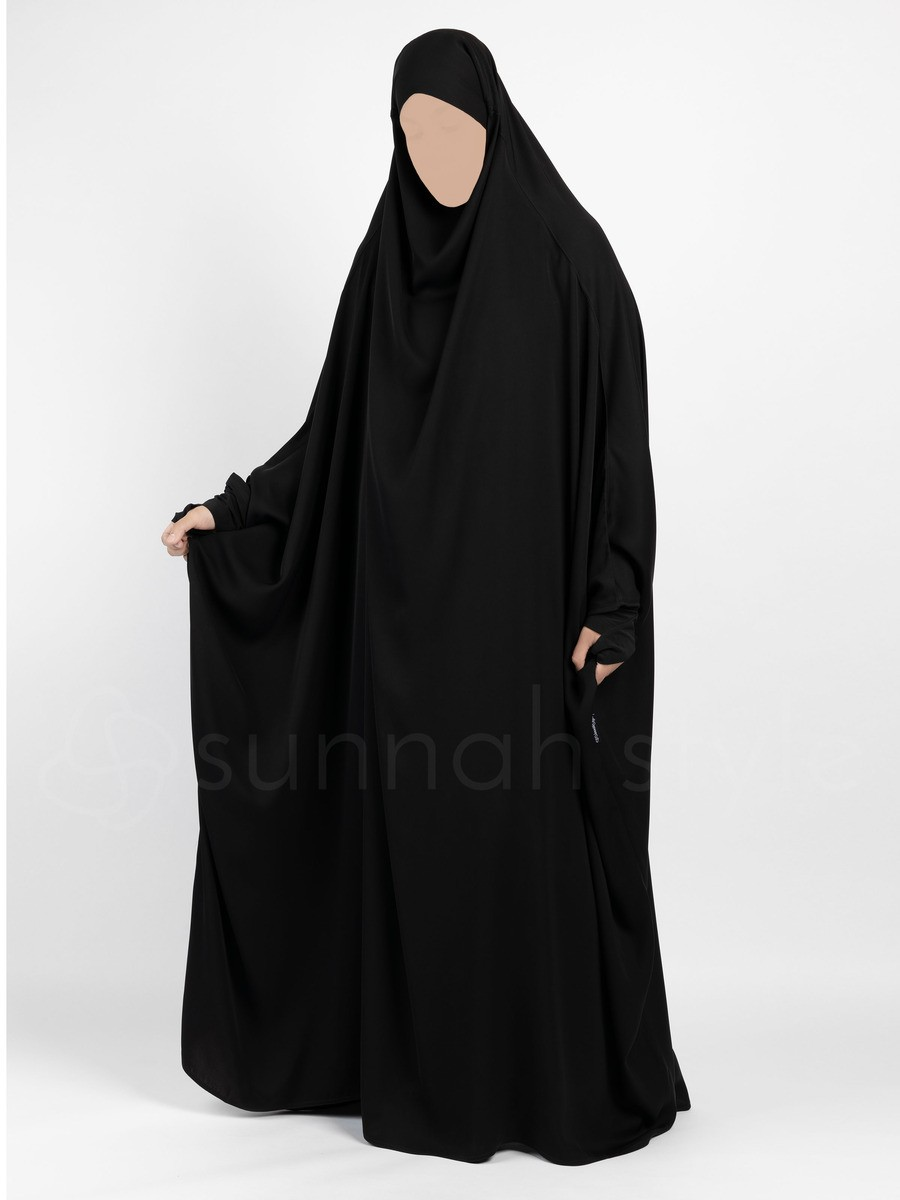 Sunnah Style - Essentials Full Length Jilbab (Black)