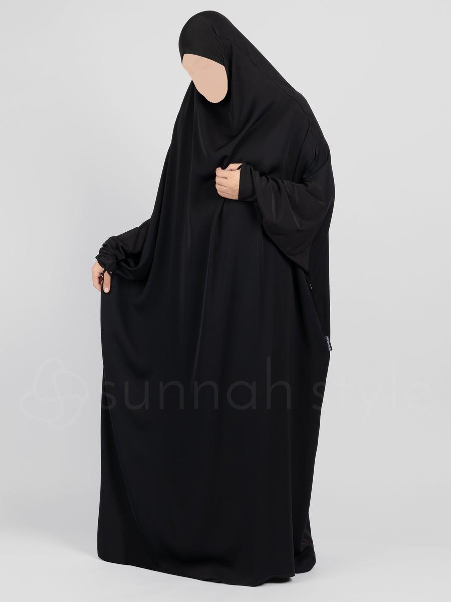Sunnah Style - Signature Full Length Jilbab (Black)