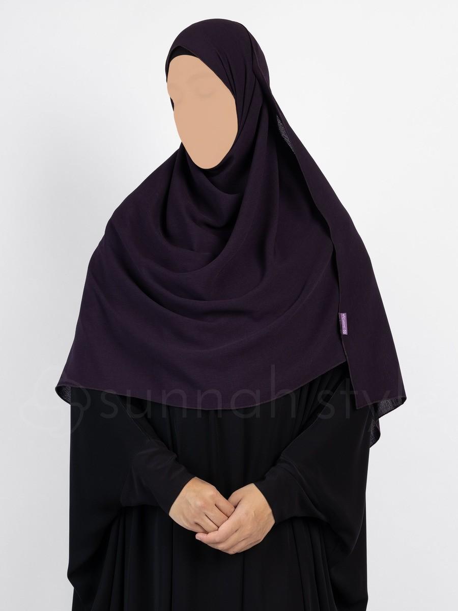 Sunnah Style - Brushed Shayla - Large (Blackberry)