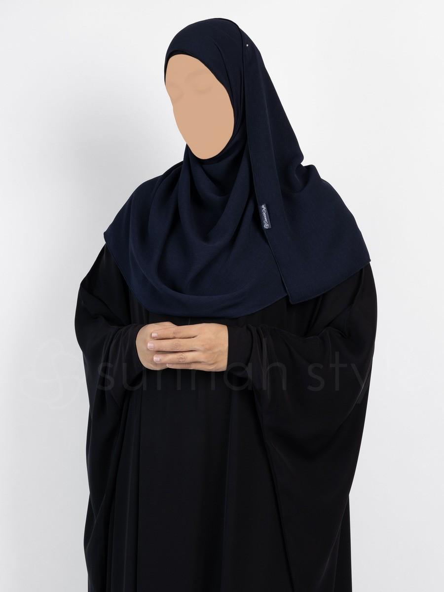 Sunnah Style - Brushed Shayla - Standard (Navy Blue)