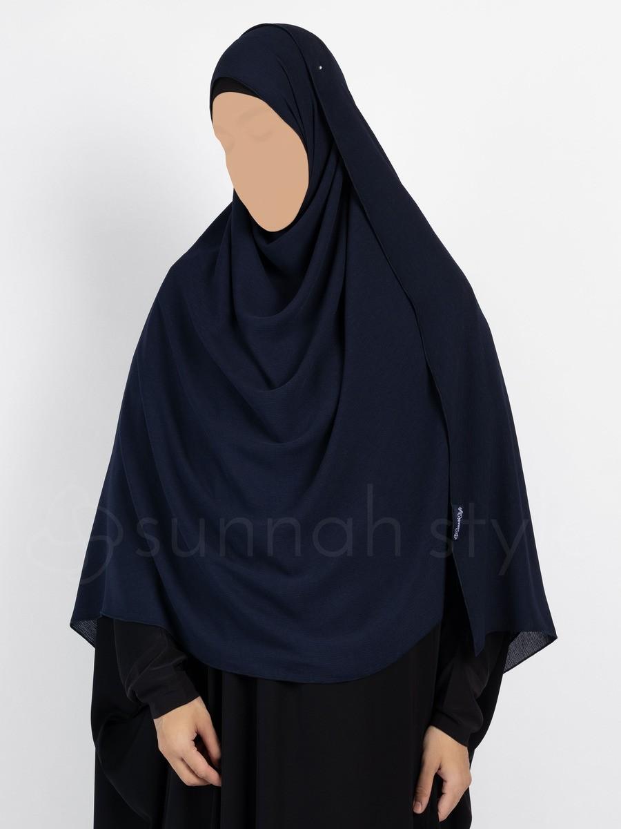 Sunnah Style - Brushed Shayla - XL (Navy Blue)