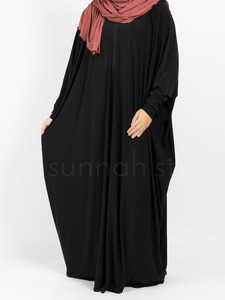 Sunnah Style - Jersey Bisht Abaya (Black)