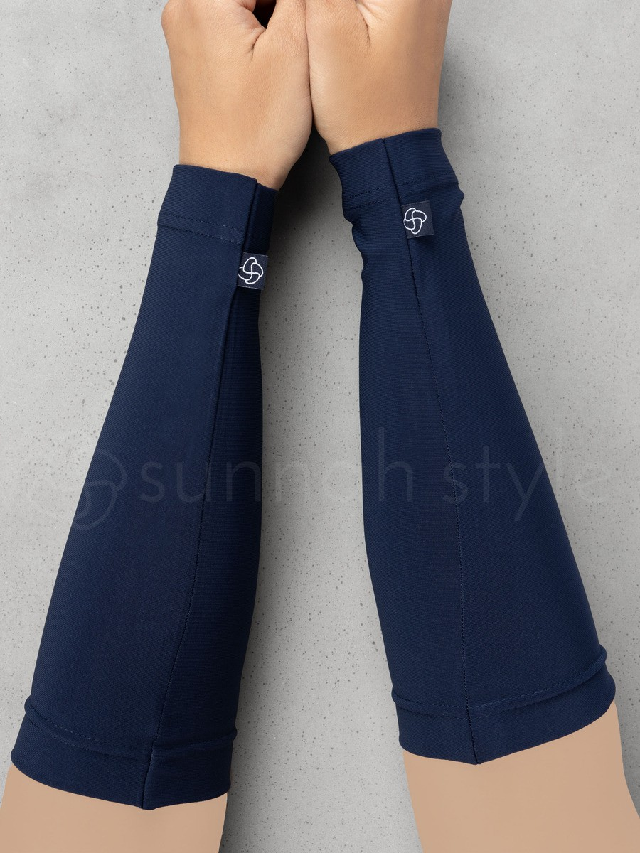 Sunnah Style - Jersey Arm Covers (Navy Blue)