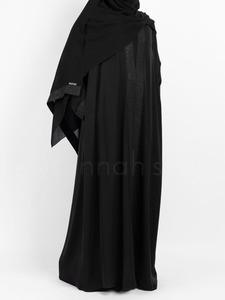 Sunnah Style - Glimmer Abaya (Black)